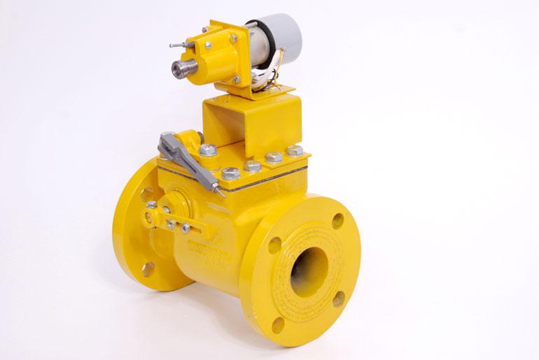 предохранительный запорный электромагнитный клапан